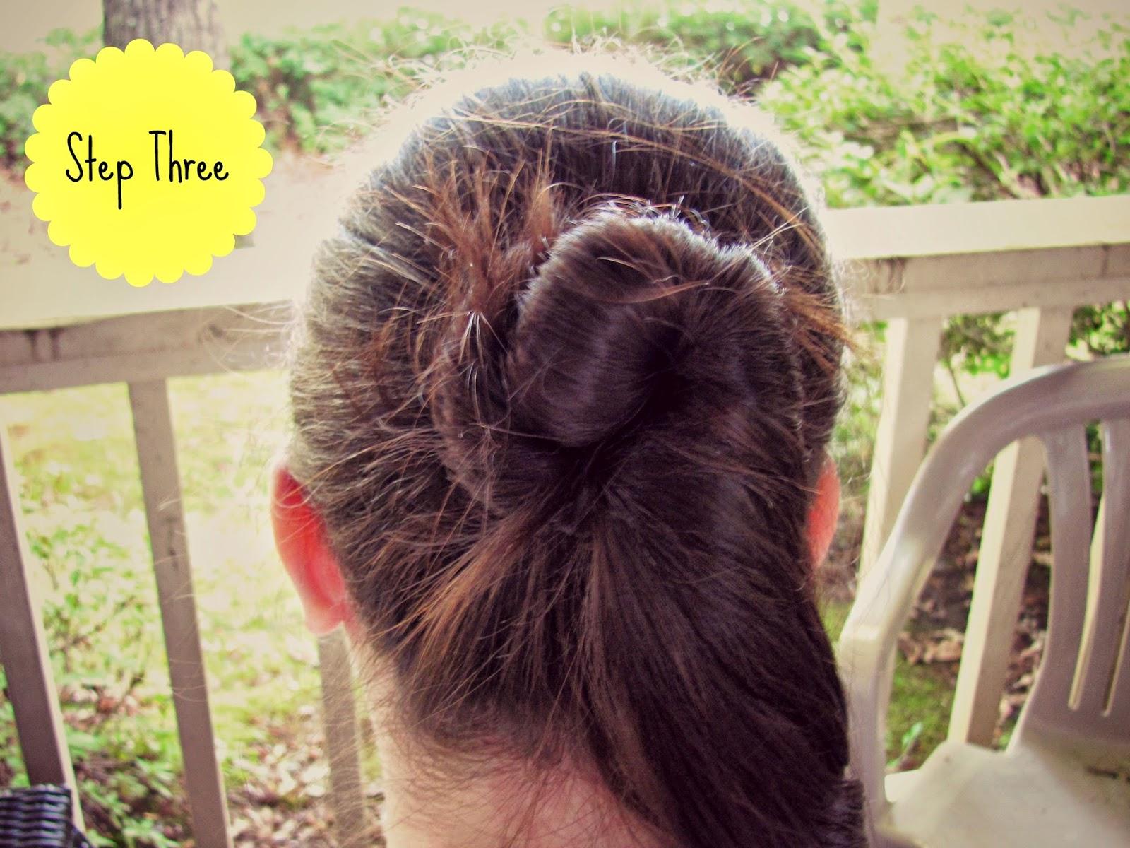 twisted-bun-hair-tutorial-step-three
