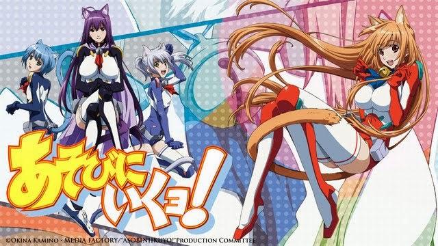 Download Anime Asobi ni Iku Yo BD Episode 01 - 12 END Subtitle Indonesia BATCH