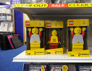 Lego lanterns and torches in WH Smith sale
