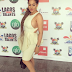 Actress Caroline Danjuma Shows Off Her B@@bs As She Rocks A Braless Outfit To An Event