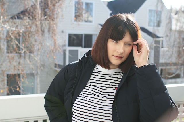 Everlane, black puffer jacket, short jacket, winter fashion, style, ootd, wiwt, Fashion blogger