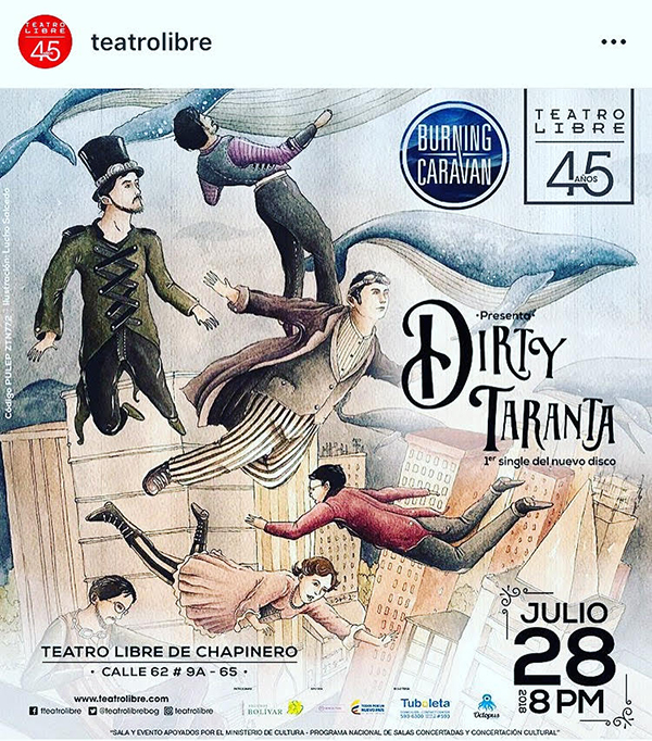 Burning-Caravan-Dirty-Taranta-Teatro-Libre