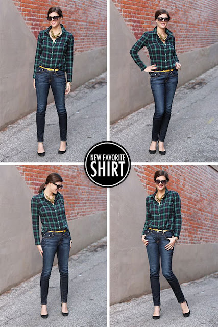 So I have started looking for trends that I can use and one trend popped up more than others was Plaid. I love plaid because it is timeless and I love anything that can stay with me more than one season/one year.