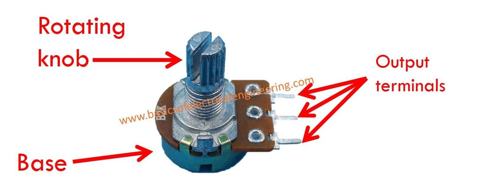 Basics Of Potentiometer