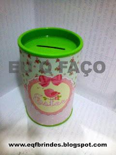 brinde chá de bebê, tema passarinho, cofrinho passarinho, cofrinho chá de bebê, chá de bebê tema passarinho