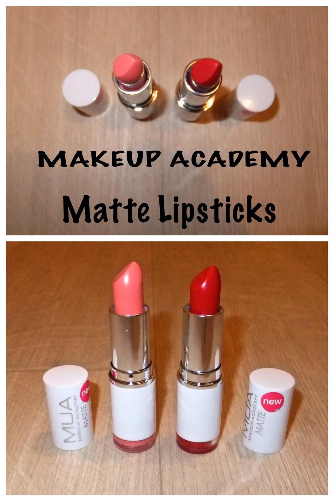 Review Mua Professional Eye Primer: The Make-up Family: Review: MUA Matte Lipsticks