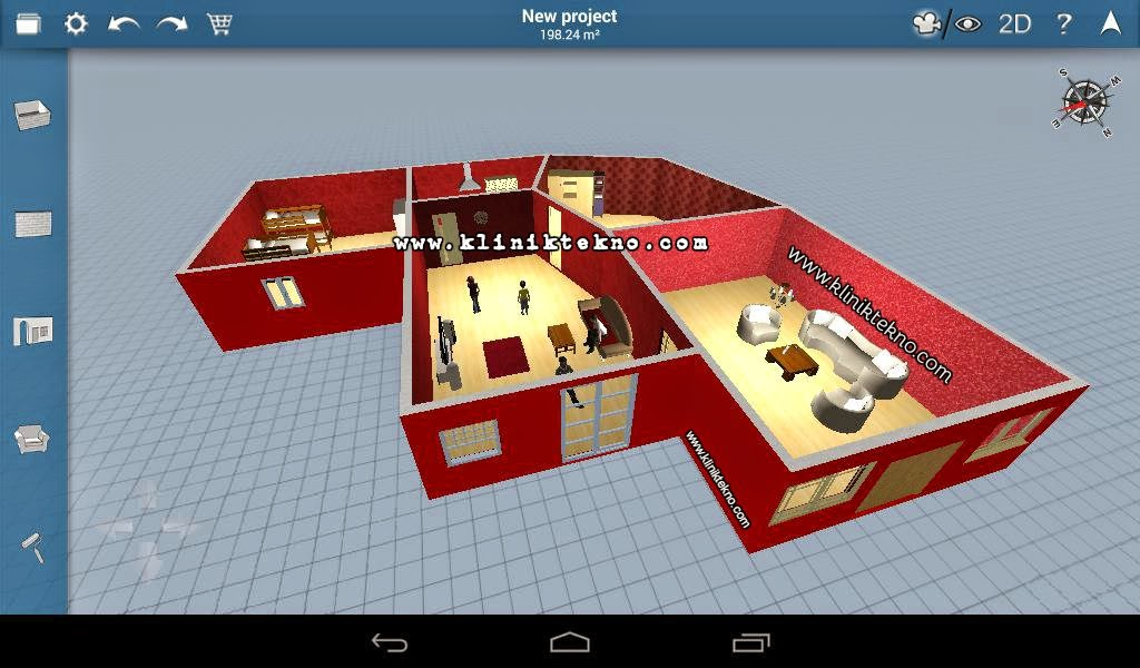 Home Design 3D Freemium Mod Full Version Apk + Data