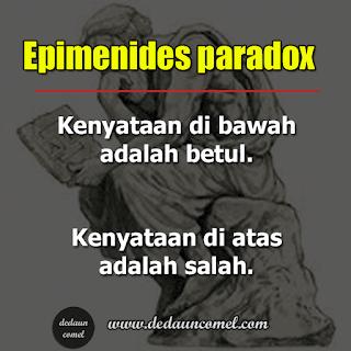 maksud paradoks. paradoks adalah, contoh paradoks