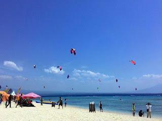 banyuwangi summer kitesurf camp