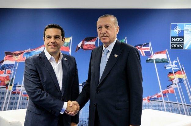 Ερντογάν: Τι συζητήσαμε με Αλέξη Τσίπρα στις Βρυξέλλες