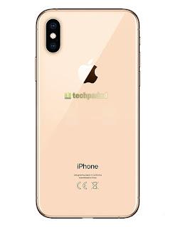 apple iPhone Xs back