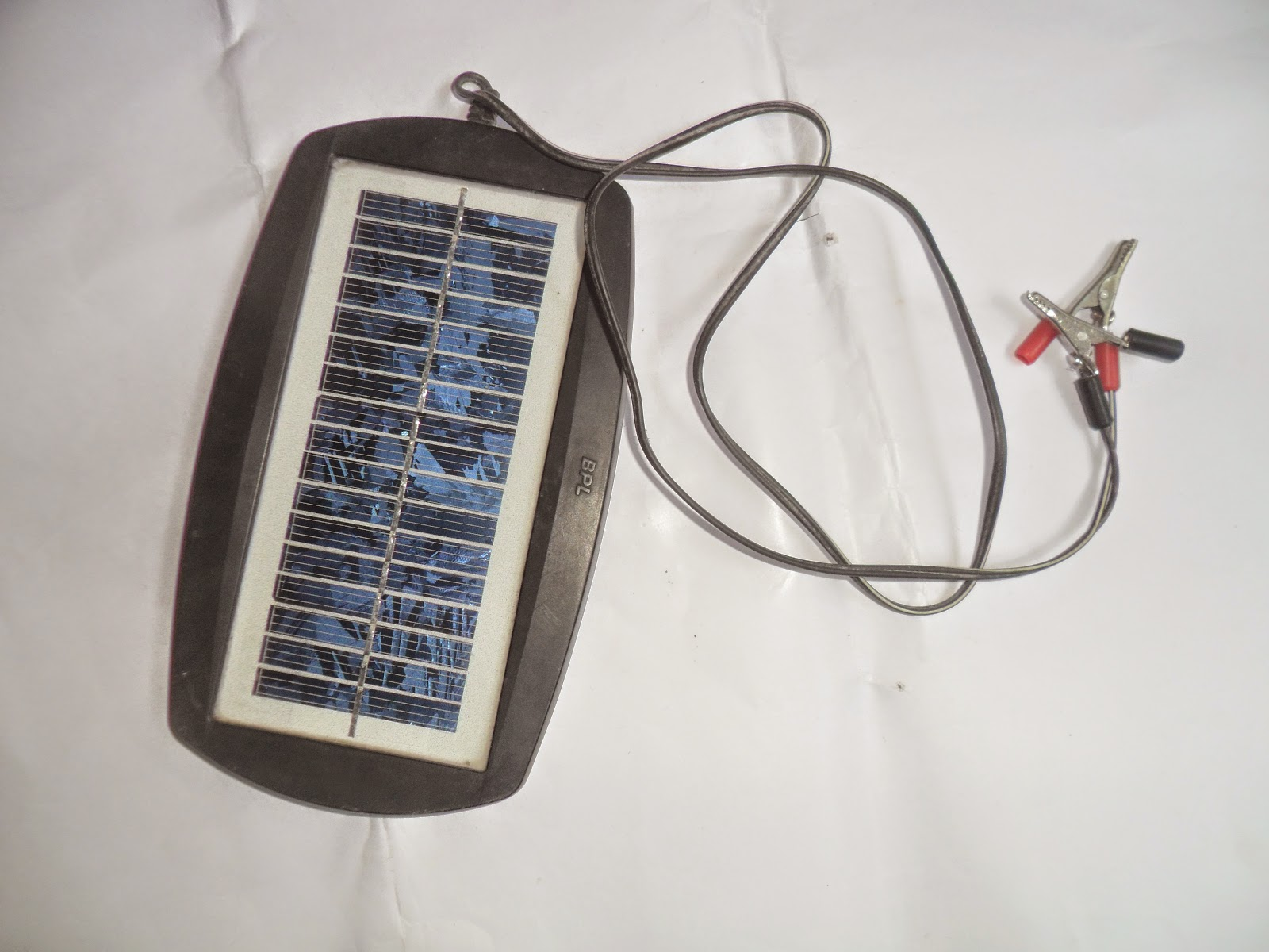 How To Make Emergency Light With A Simple 6v Circuit At Home The Right Part Of On When Enough Falls Ldr Solar Panel