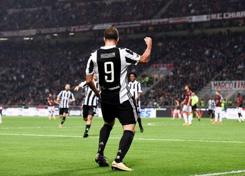 Spietata Juventus: Milan sconfitto a San Siro per colpa di Higuain che arriva a 101 gol in Serie A
