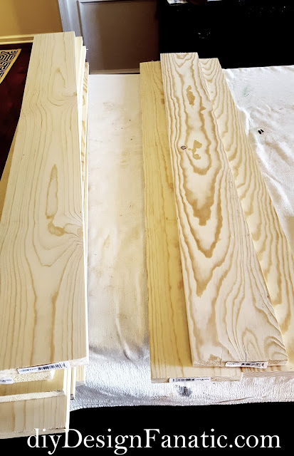Gustavian Plank Headboard, cottage headboard,farmhouse headboard, cottage, cottage style, farmhouse, farmhouse style, guest room, diy headboard, diyDesignFanatic.com