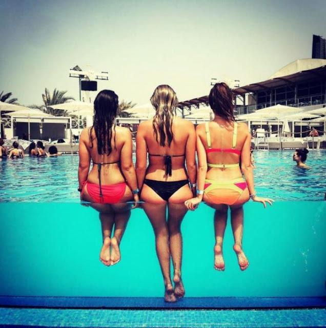 Belfie en la piscina, la nueva tendencia para el verano