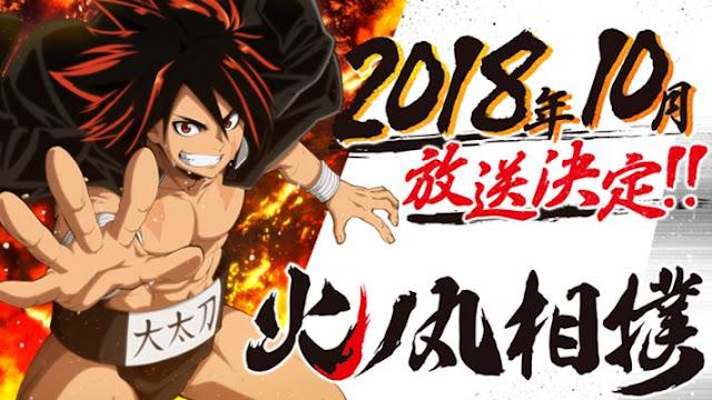 Sinopsis Anime Hinomaru Zumou (2018) Bahasa Indonesia