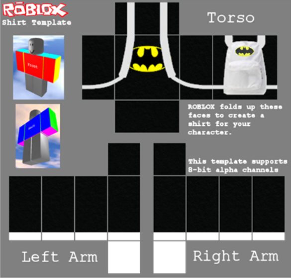 A highly popular easy to sell shirt! With this you can experiment with different names and easily make some robux! This is one of my favorite shirts for ...