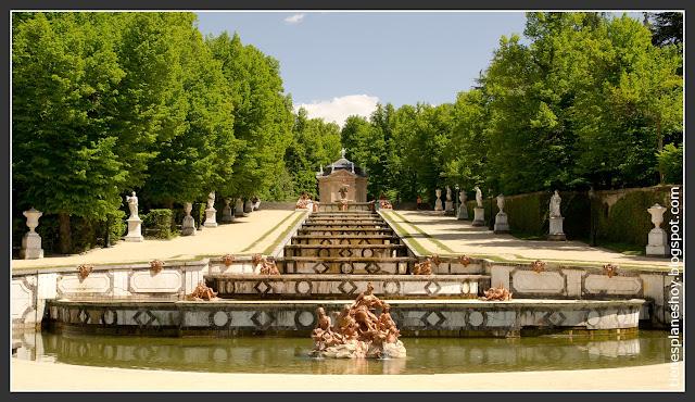 Palacio Real y fuentes de la Granja de San Ildefonso