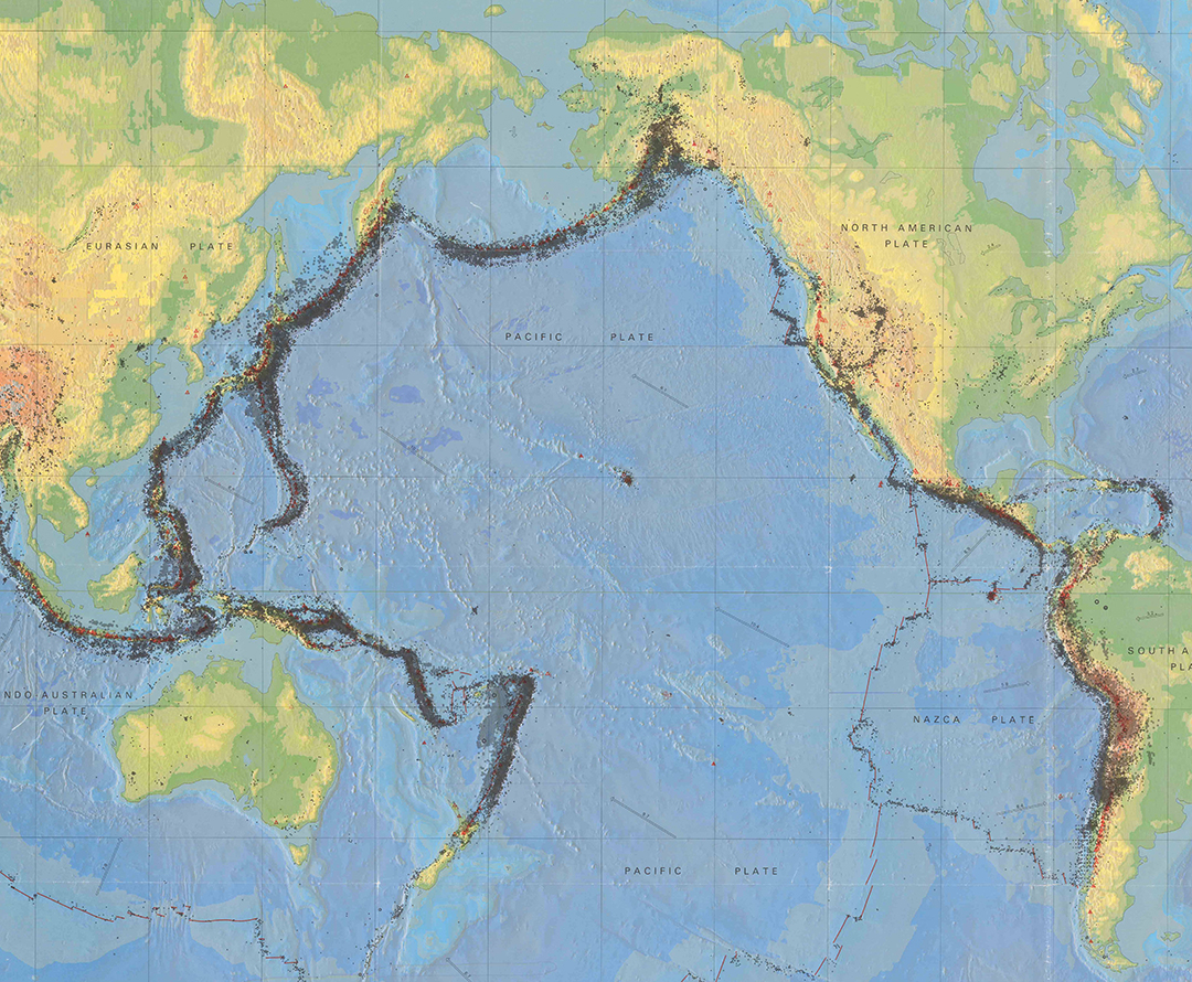 earthquake maps available from ball state university