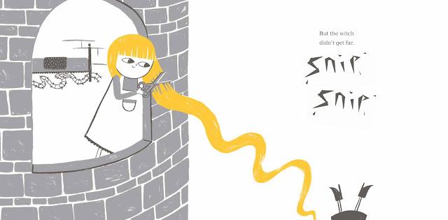 Rapunzel - a bookwrap
