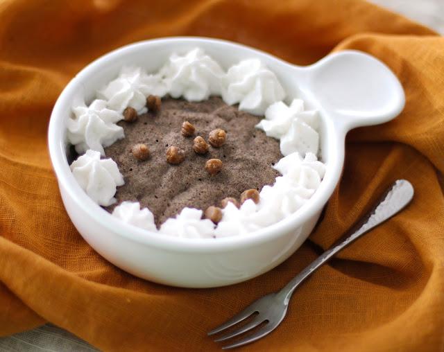 Single-Serving Butterscotch Buckwheat Microwave Muffin