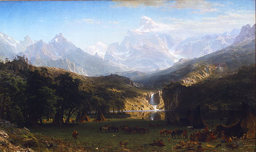 Tranh Landscape paintings, Tranh sơn dầu