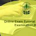 Online Exam Tutorial for MTS Examination, 2016