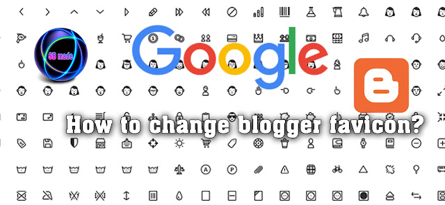 change blogger favicon