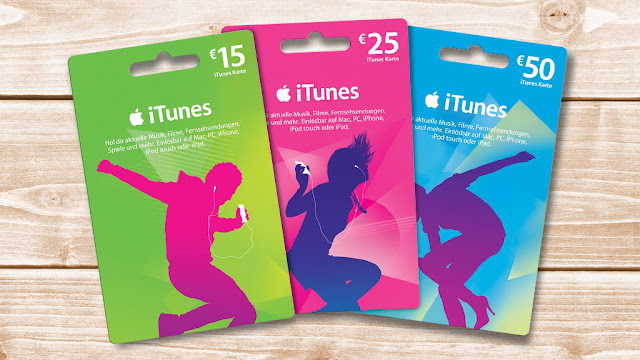 ITunes card discount: Reduced credit cards