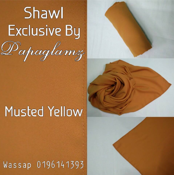 Miliki Shawl Exclusive By Papaglamz Secara PERCUMA