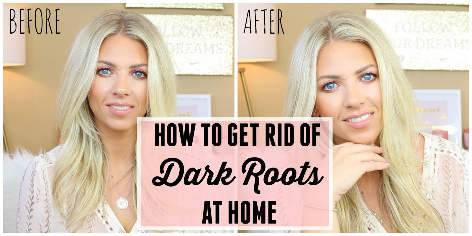SAM SCHUERMAN: Get Rid Of Dark Roots At Home   Back2Blonde Root Spray