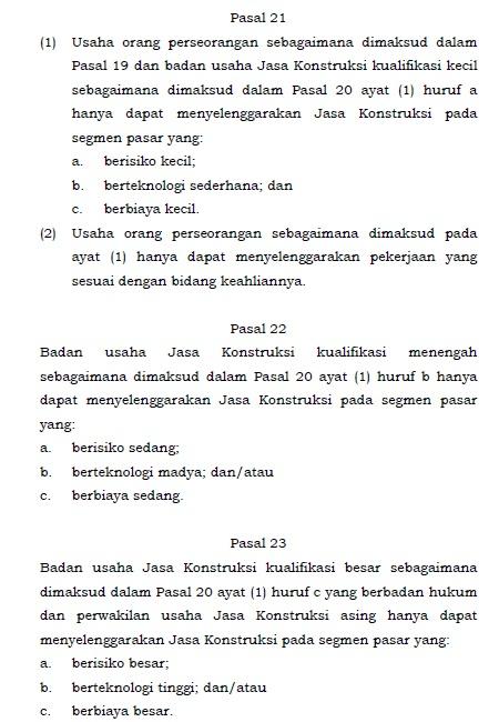 UU Jasa Konstruksi No 2 Tahun 2017