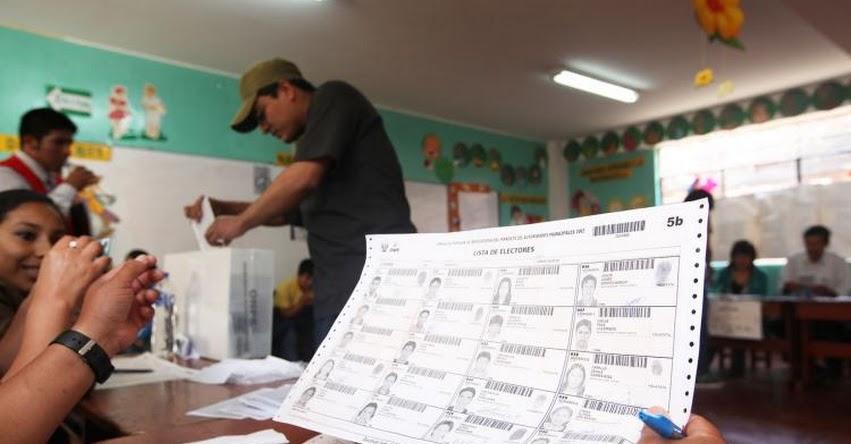 REFERÉNDUM 2018: Sepa dónde votar el 9 de diciembre. Información oficial de la ONPE - www.onpe.gob.pe