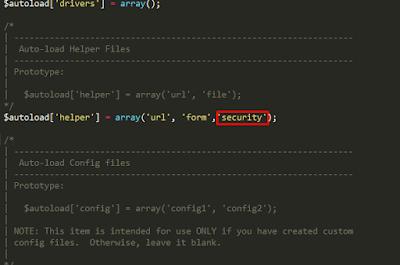 CodeIgniter : XSS Clean dan Penerapannya
