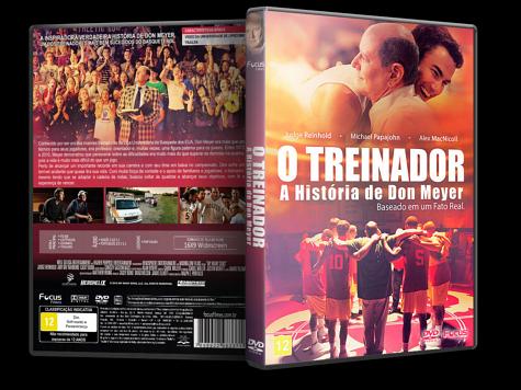 Capa DVD O Treinador: A História de Don Meyer [Custom]