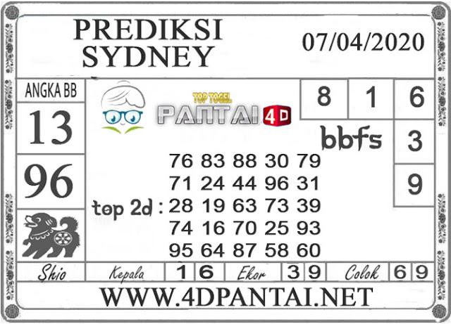 PREDIKSI TOGEL Sydney PANTAI4D