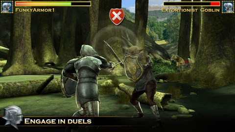Android game Knight Storm (Unlimited Gold Coins + Crystals)