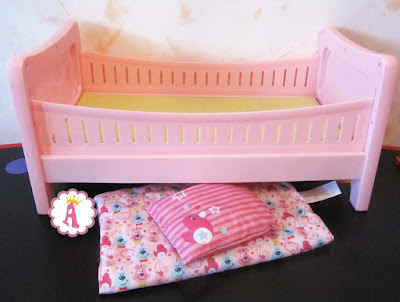 Набор кроватка для Беби Борна