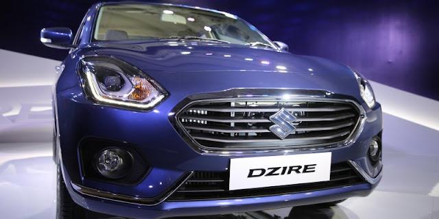 New 2017 Maruti Suzuki Dzire front look