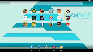 Android Emulator AMIDU OS