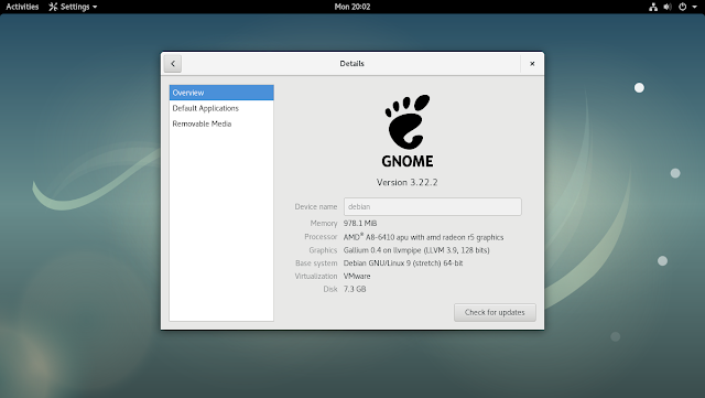 GNOME Desktop Image