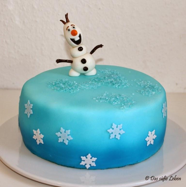Rezept Olaf von der Eisknigin mit Torte  Das se Leben