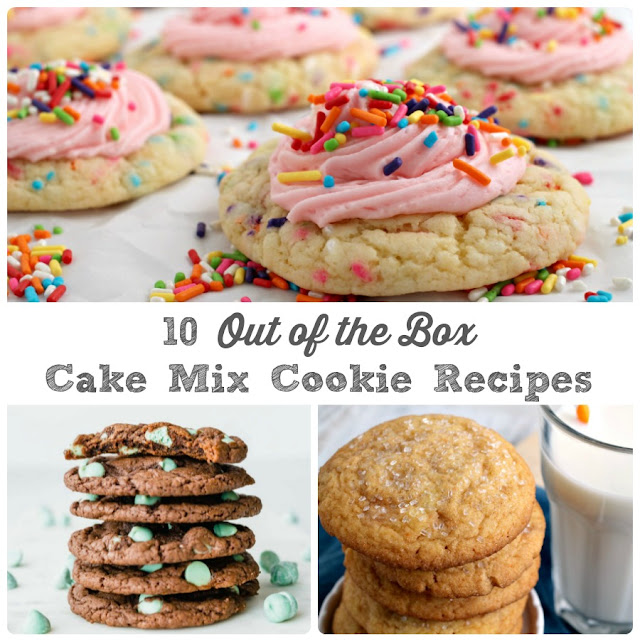 Transform your favorite boxed cake mix into a batch of soft & chewy cookies with these 10 Out of the Box Cake Mix Cookie Recipes.