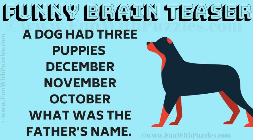 Hard Funny Riddle Brain Teaser