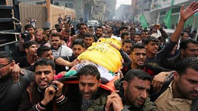 استشهاد طفل فلسطيني