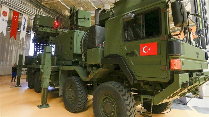 Koral, Senjata Baru Turki