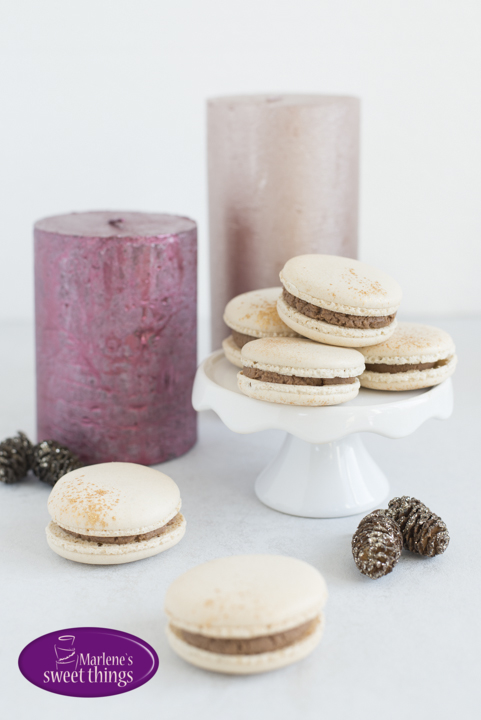 Lebkuchen Macarons von Marlene's Sweet Things