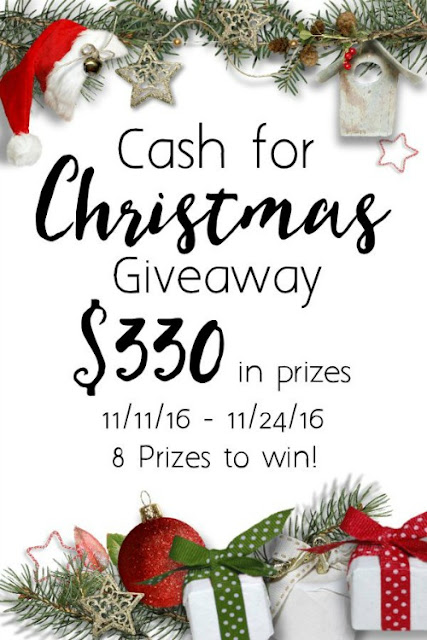 $330 Cash for Christmas Giveaway