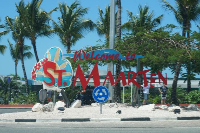 Karibian risteily, St Maarten Philipsburg ja Saint Martin Friar's Bay / autoilu saaren ympäri lasten kanssa