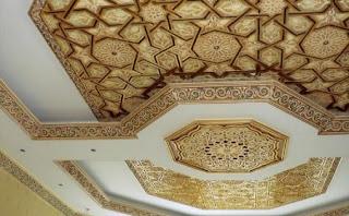 ديكورات جبصين عربي صورواشكال جبصين اسقف وغرف نوم